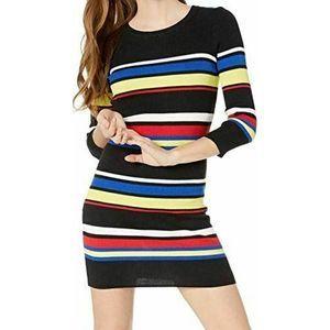 Sanctuary Sweater Dress Trailblaze Stripe NWT $139